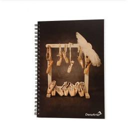 Ballet / Danza Cuaderno DIN A5 Puntas 3,68€ - ES