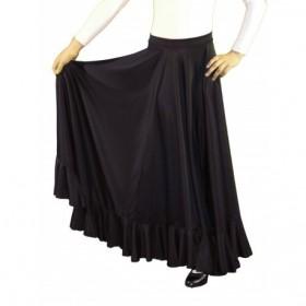 Baile Flamenco Falda de ensayo 1 volante 33,02€ - ES