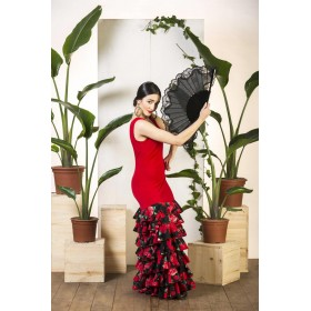 Baile Flamenco Vestido De Flamenco Zalamea 90,08€ - ES