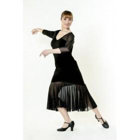 Baile de Salón y Latino Falda De Salón Gatuña 130,58€ - ES