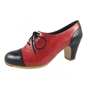 Professional Flamenco Shoes Professional Fandango Pala Recta 107,44 € - EN