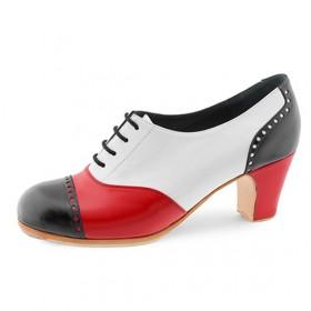 Zapatos de flamenco profesionales Fandango Tricolor Profesional 111,57€ - ES