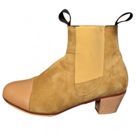 Zapatos de flamenco profesionales Bulería Combinada Caballero Profesional 128,10€ - ES