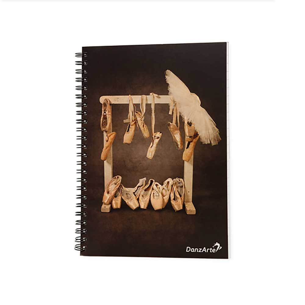 Ballet & Classic DIN A5 Puntas Notebook 3,68€ - EN
