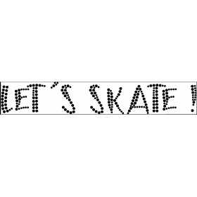 Ballet & Classic Skate Diamond Sticker 2,44 € - EN