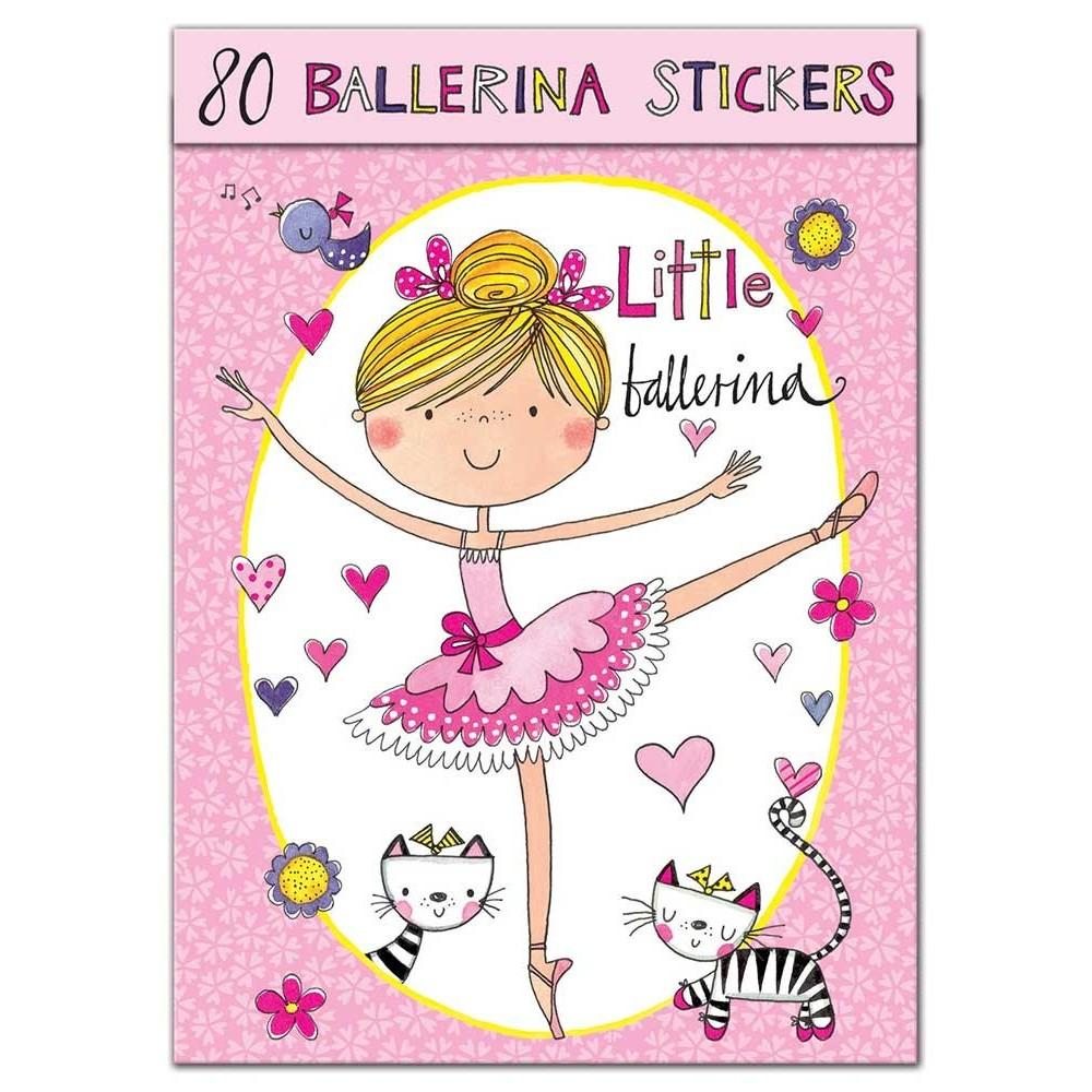 Ballet & Classic Dancer Stickers 4,92€ - EN