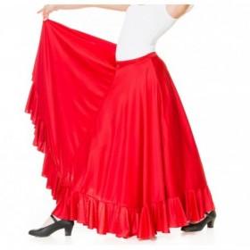 Baile Flamenco Falda de ensayo 1 volante niña 31,36€ - ES