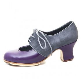 Zapatos de flamenco profesionales Malagueña Combinado Profesional 107,44€ - ES