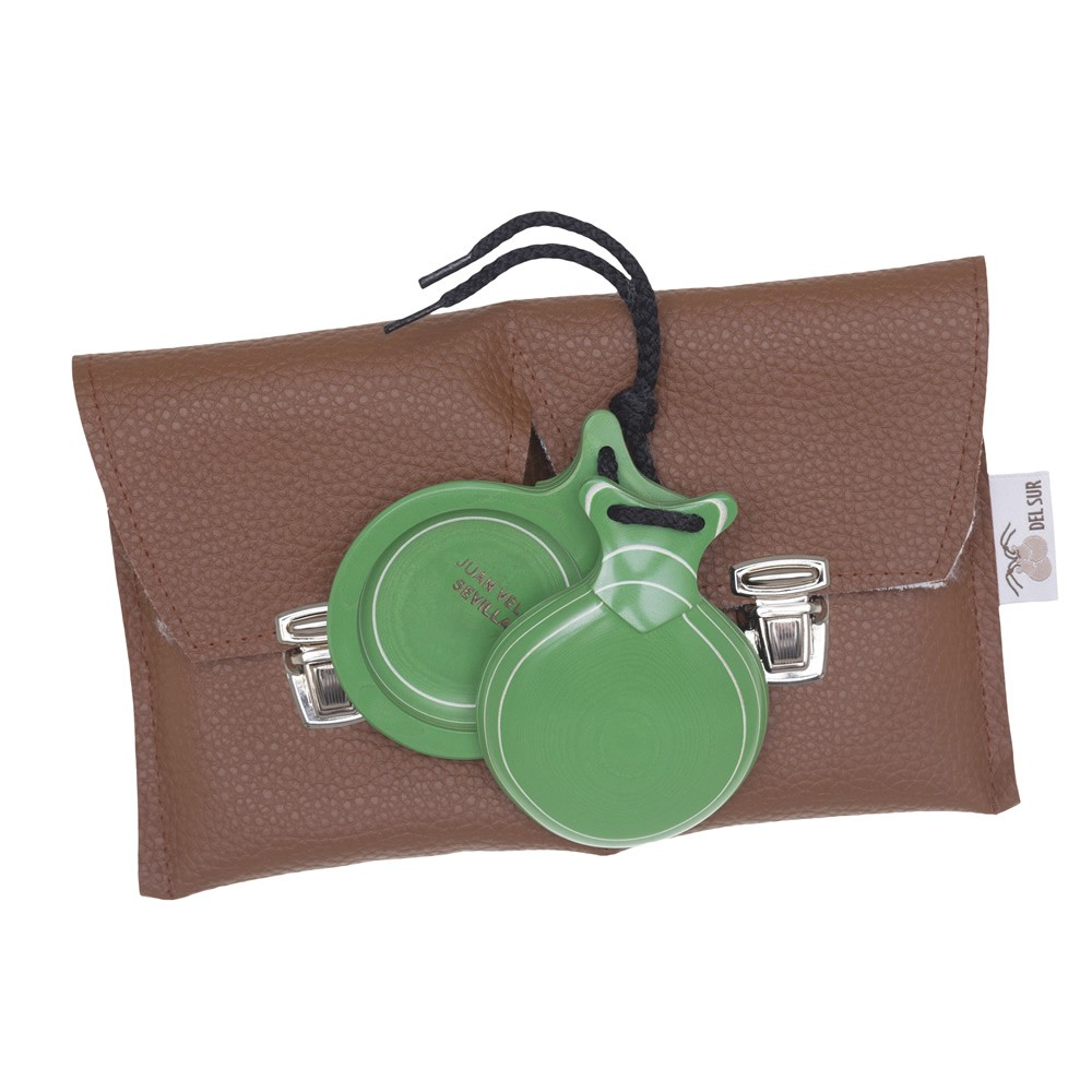 Elite Castanets Capricho Green Veined In White No.5 198,31 € - EN
