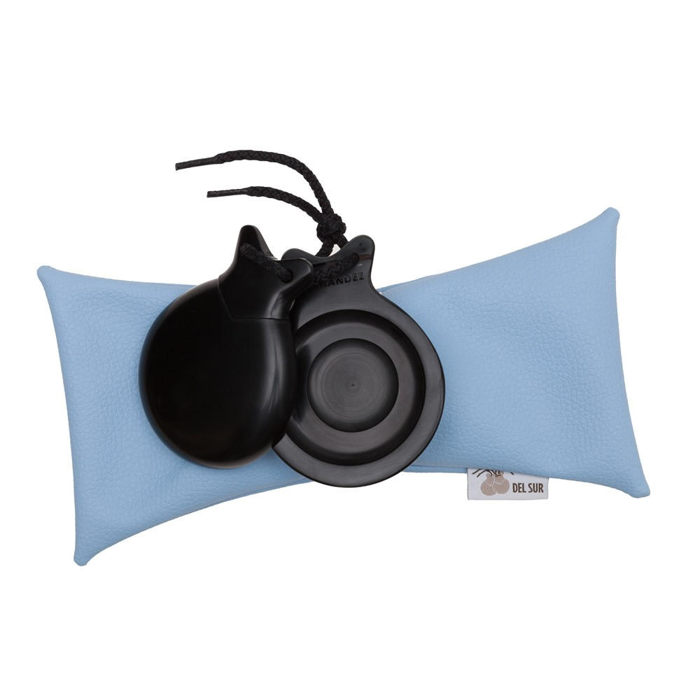 Semiprofessional Castanets Black Fiber Concierto with Double Sound Box 45,41 € - EN