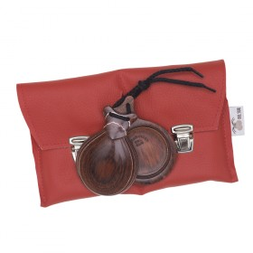 Professional Castanets Red Wood Veined In White 90,87 € - EN