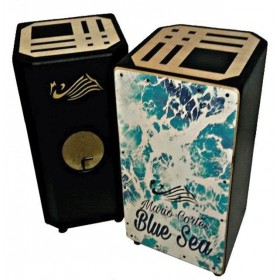 Mario Cortes Cajon Drum Cajón Flamenco Blue Sea 144,63 € - EN
